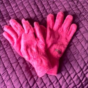Winter gloves pink